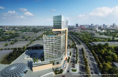 Rendering of proposed Richmond casino