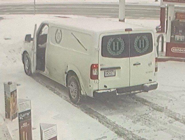 Funeral home van stolen