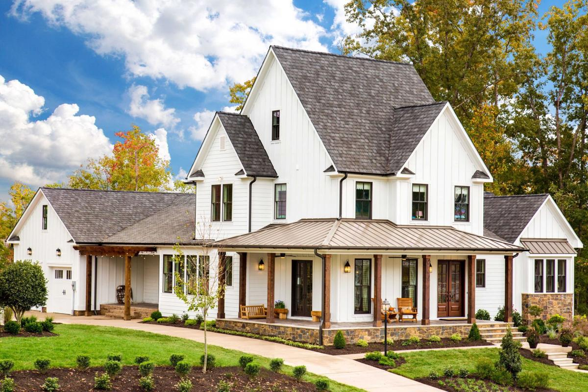 Southern living inspired homes debut in hallsley for Styles of residential homes