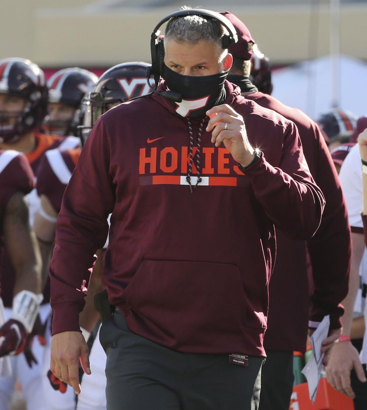 Virginia Tech coach Justin Fuente