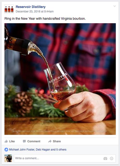 Barber Martin ads for Reservoir Distillery