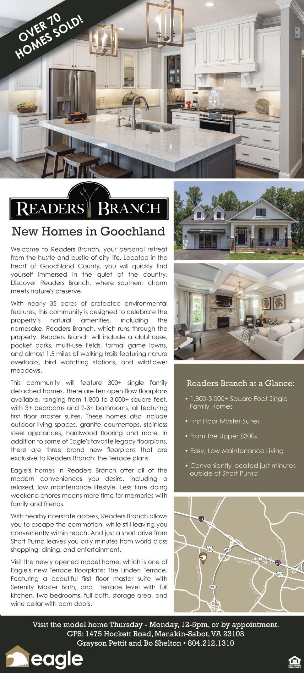 Readers Branch: New Homes in Goochland 01