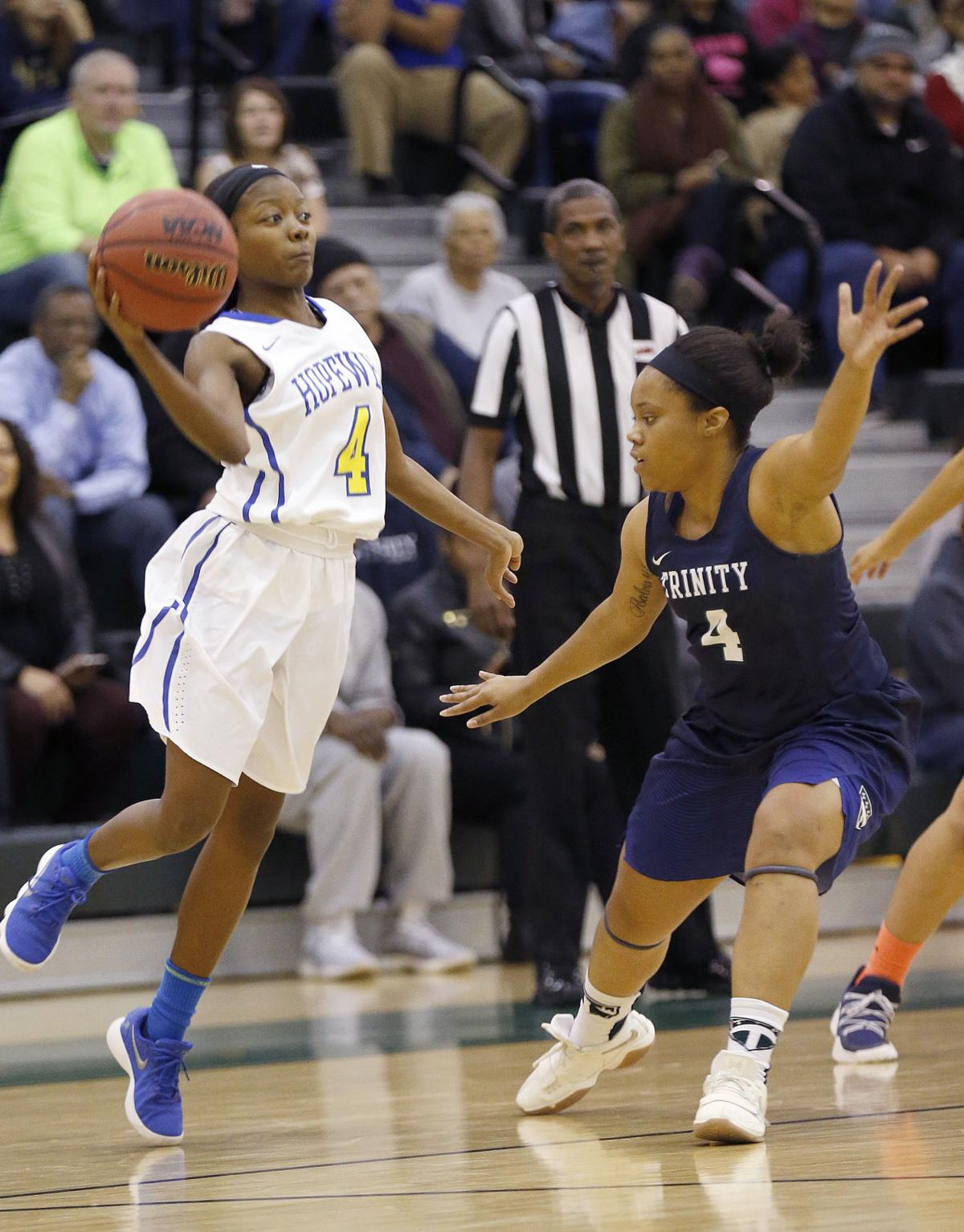 TDIT girls semifinal game: Hopewell vs. Trinity Episcopal