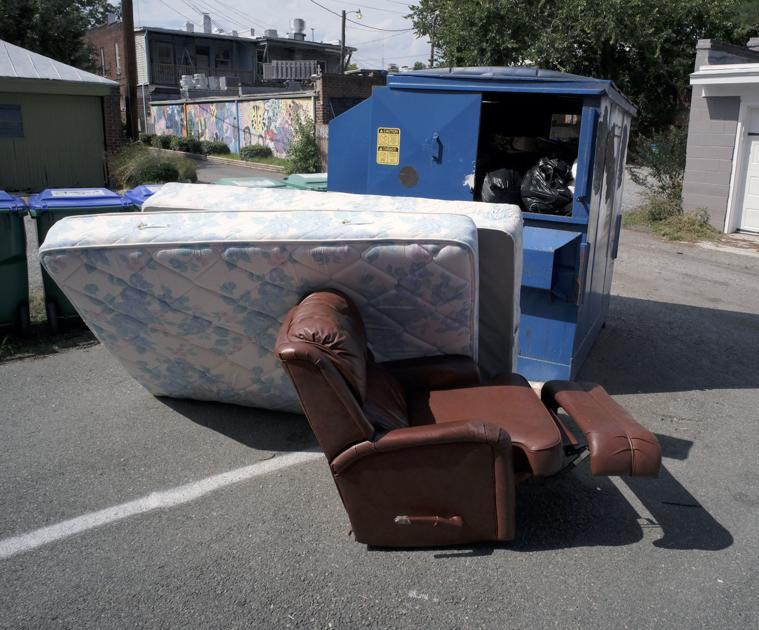 councilwoman wants city trash collectors to pick up couches, mattresses