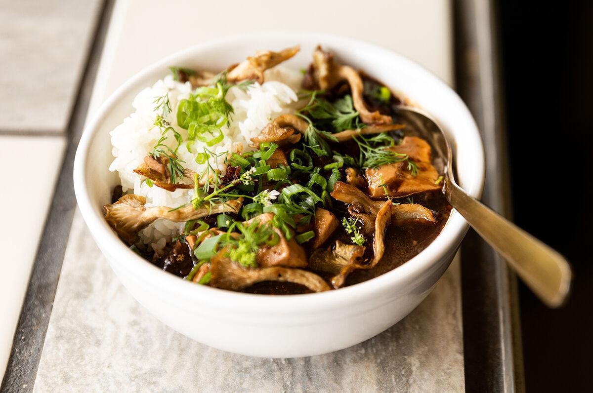 Mushroom Mapo Tofu 2