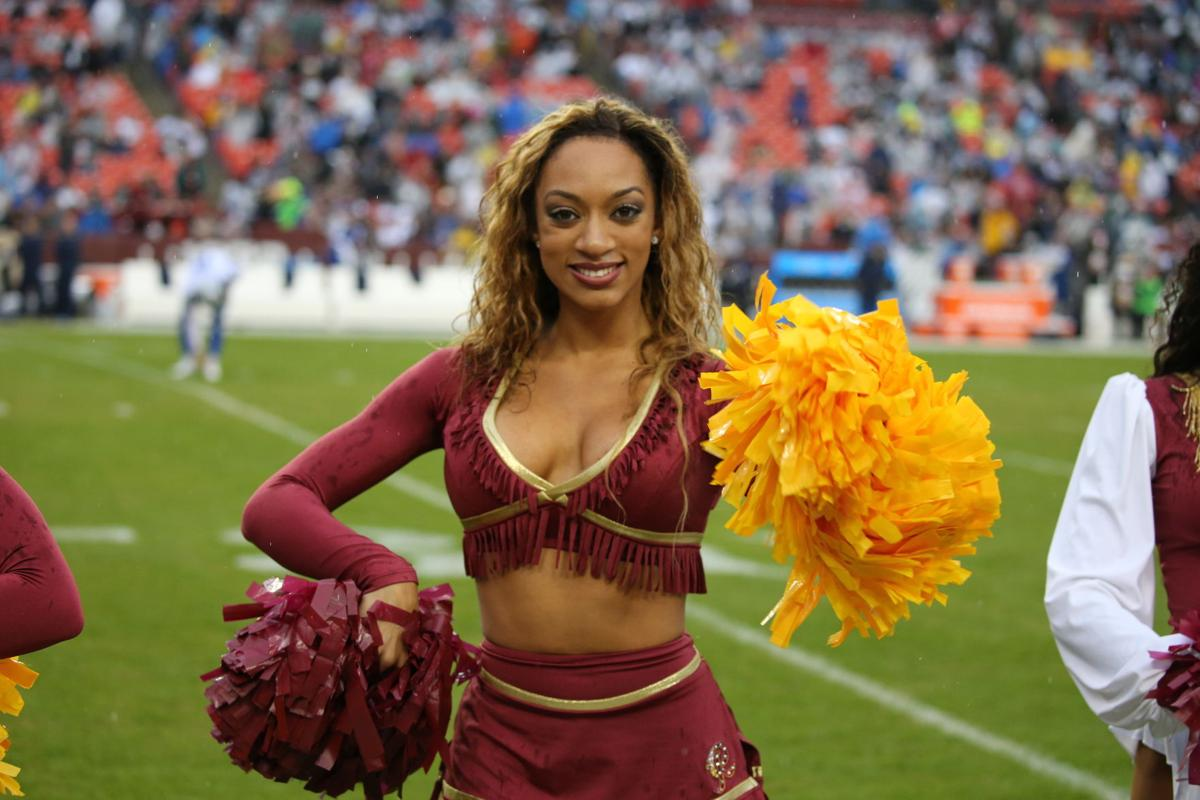 Washington Redskins cheerleaders