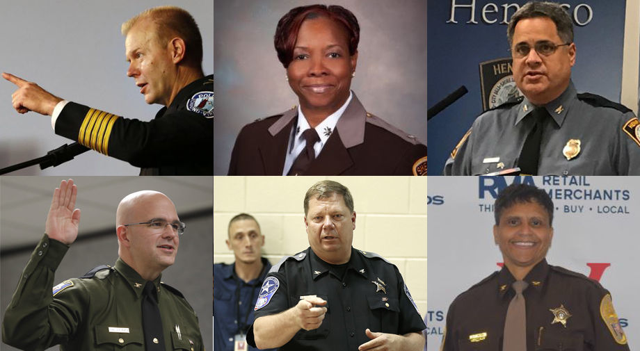 Richmond area's police chiefs and sheriffs