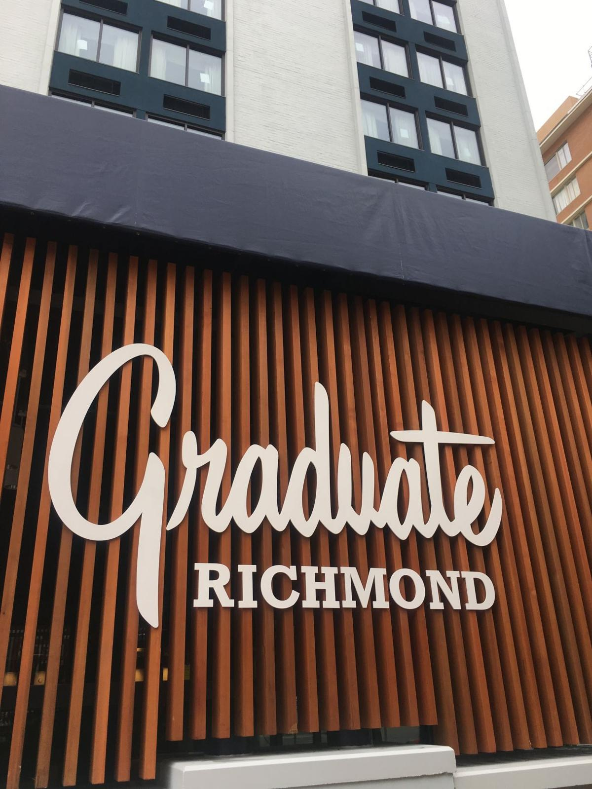 the graduate richmond hotel to open next week rooftop