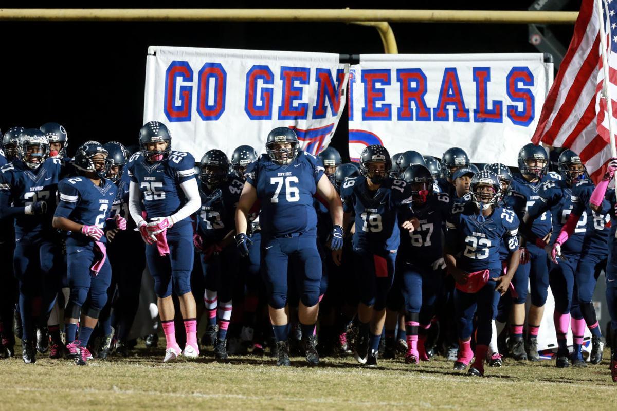 Dinwiddie vs. Thomas Dale High School Football