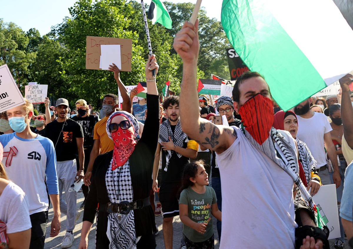 """""""We Stand with Palestine!"""" march"""