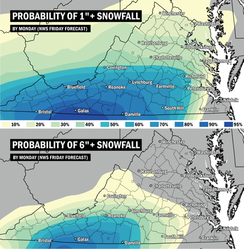 Snowfall maps | | richmond.com on