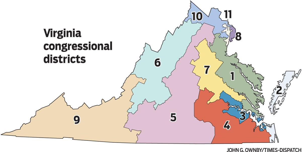 Federal Court Throws Out Boundaries Of Virginia S 3rd District