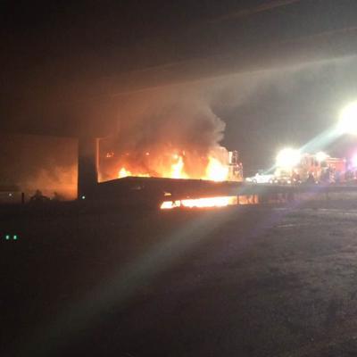 I-95 truck crash