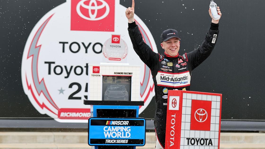 PHOTOS: John H. Nemechek(4) wins ToyotaCare 250 NASCAR Camping World Truck Series