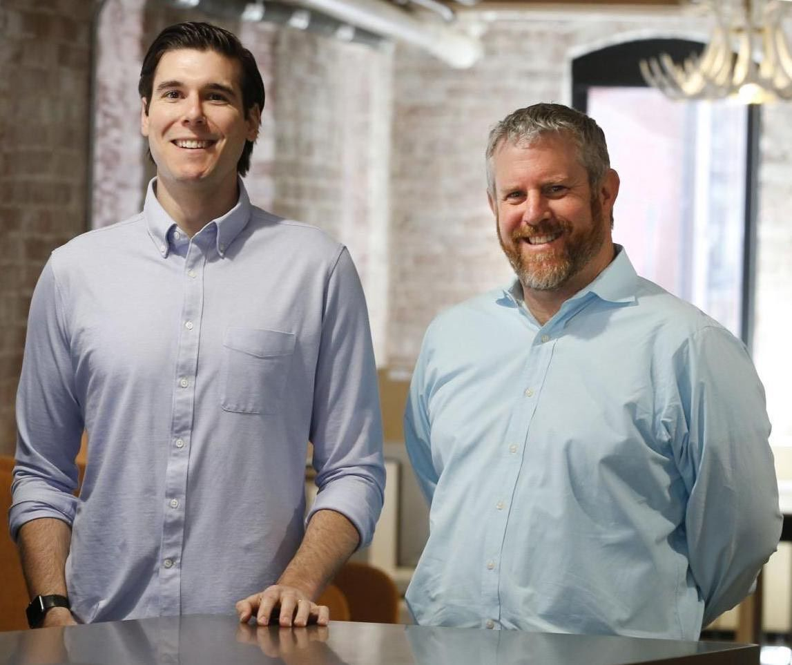 AnswersNow co-founders Jeff Beck and Adam Dreyfus.