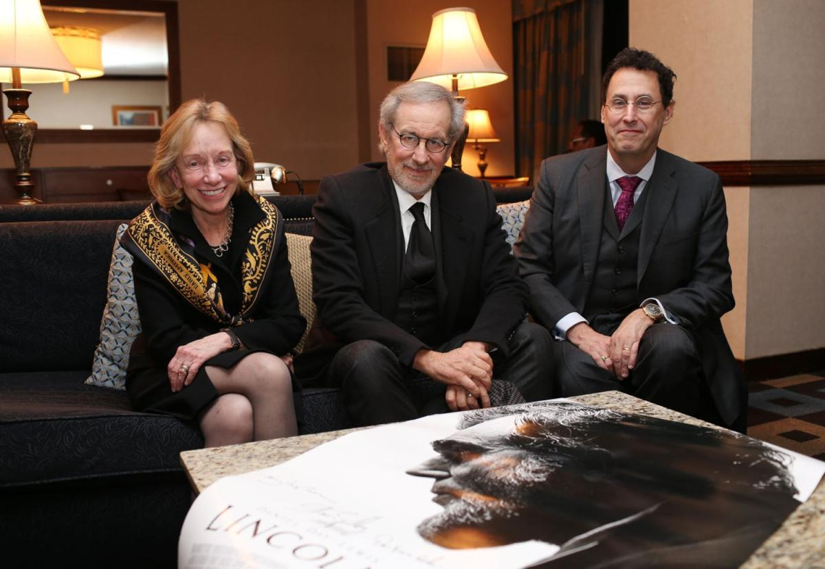Tony Kushner at Richmond Forum with Doris Kearns Goodwin and Steven Spielberg