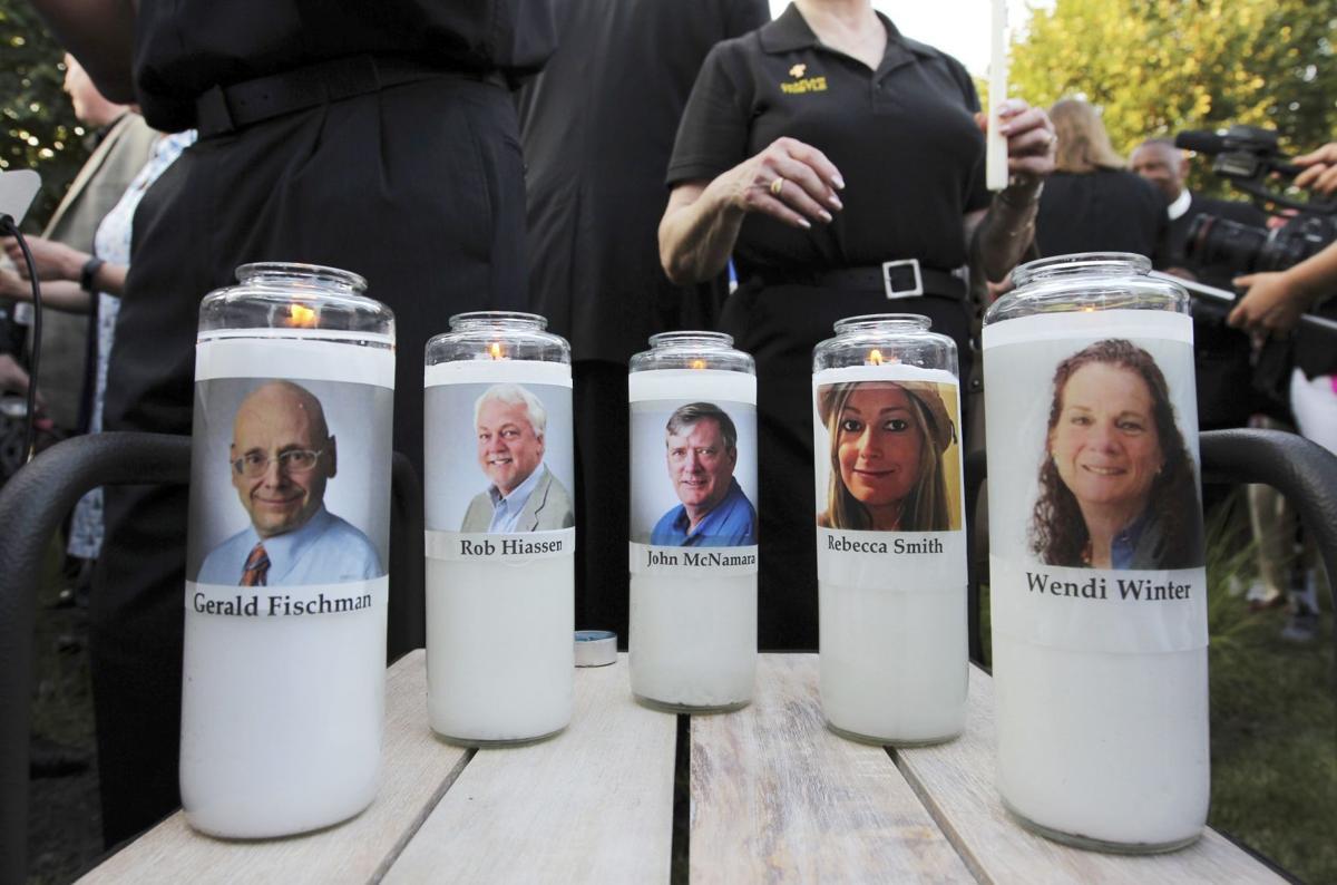 Capital Gazette Vigil