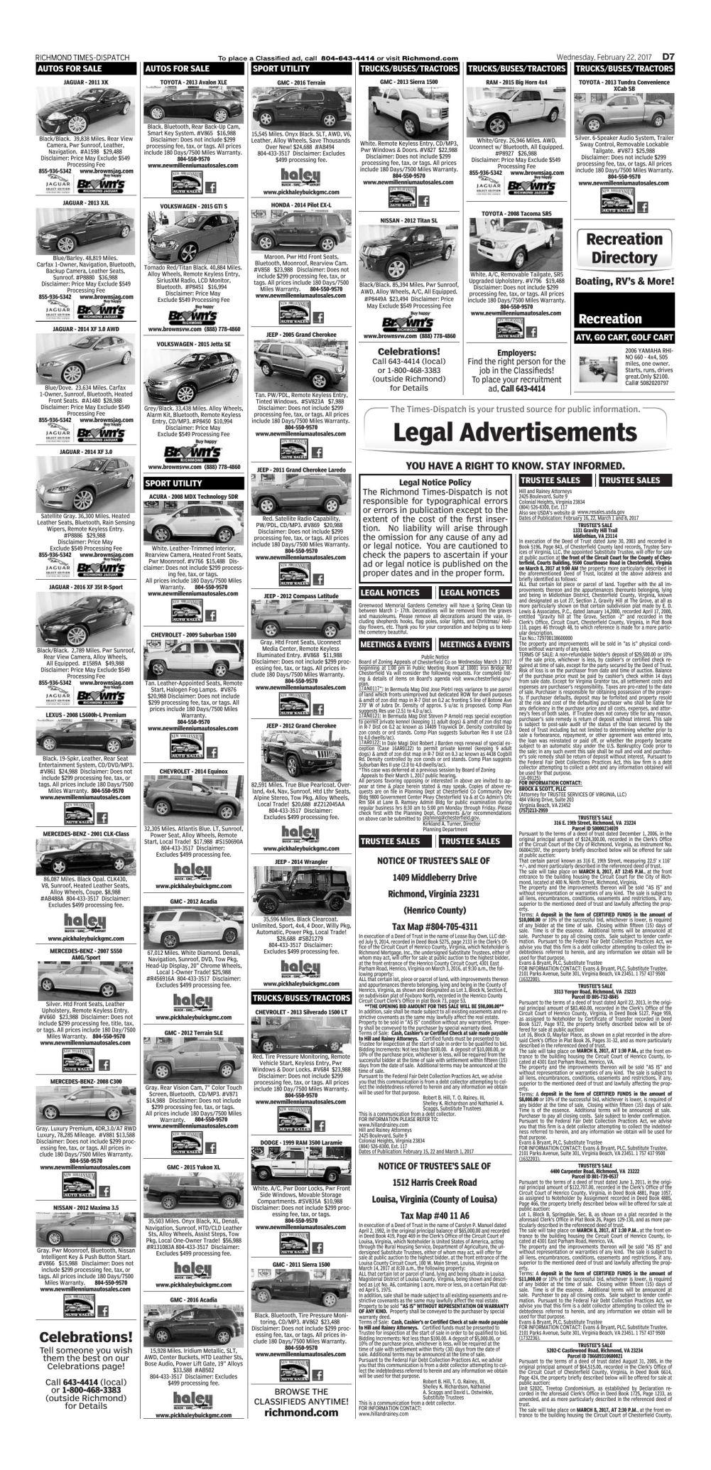 D7 | Todays-pages | richmond com