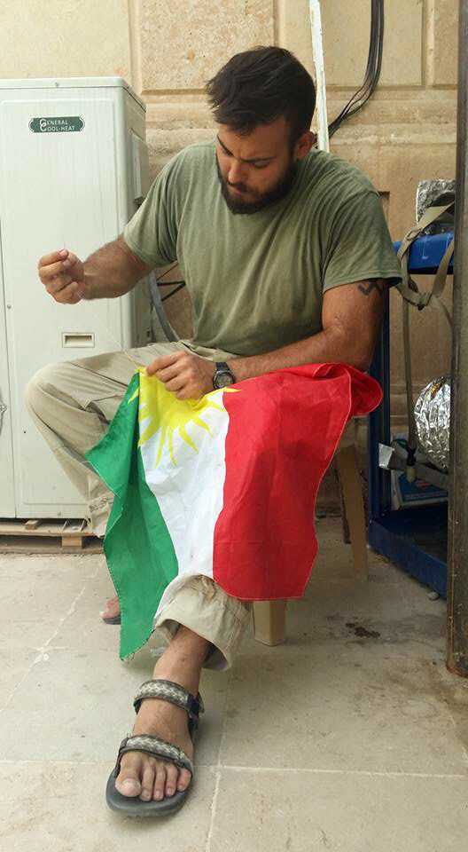 Faces of 2015: Pete McKenna fought alongside Kurds in Iraq