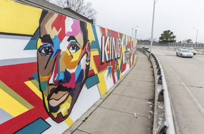 MLK murals by Hamilton Glass, Sir James Thornhill & students
