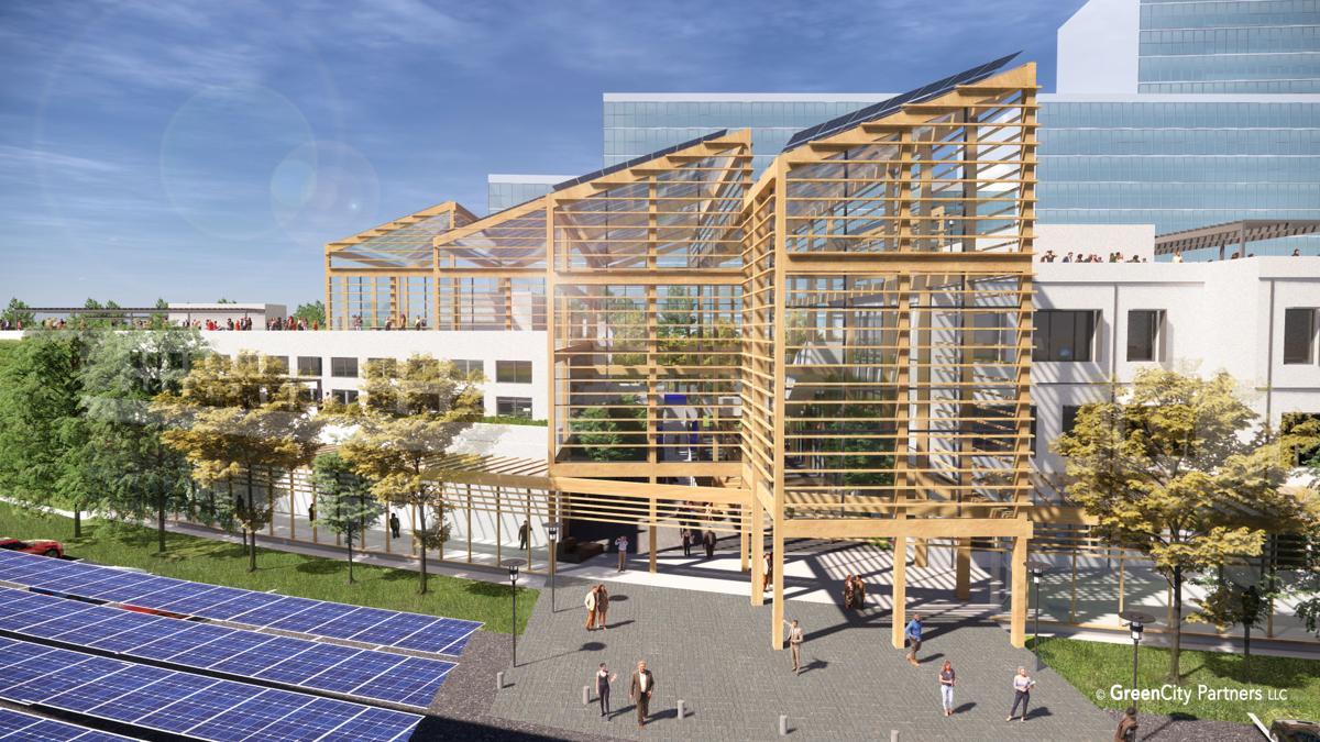 Rendering of GreenCity project