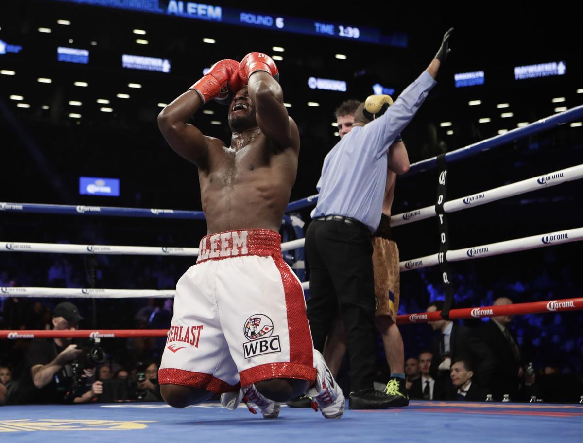 Khytrov Aleem Boxing