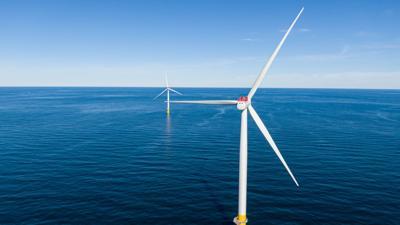 Dominion Energy wind turbines