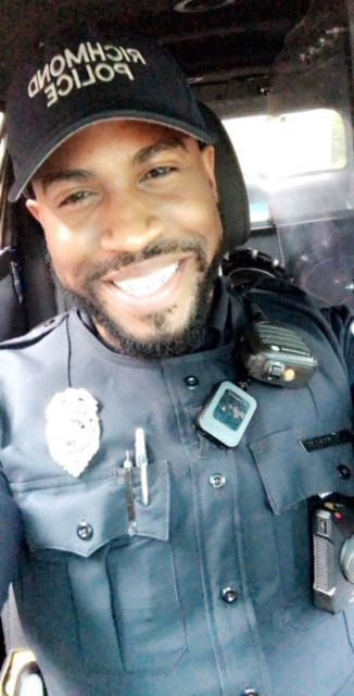 Richmond Police Officer Rashad Martin