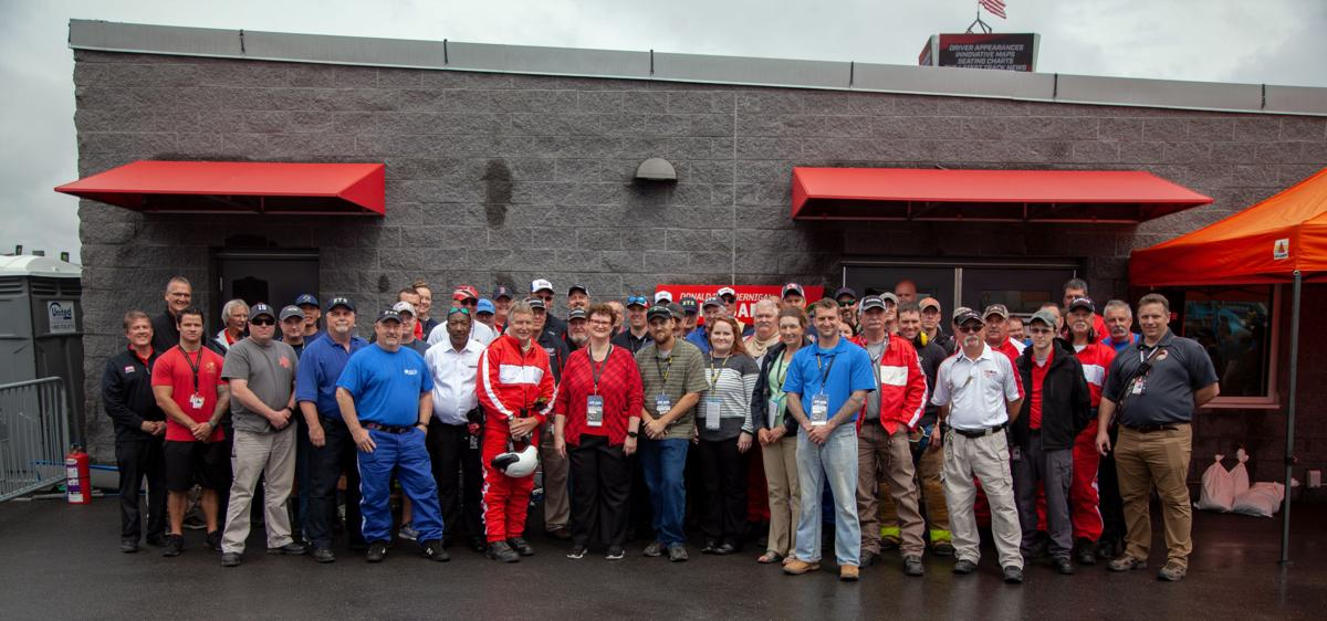 Richmond Raceway Fire & Safety Building Dedication: Past & Present gather