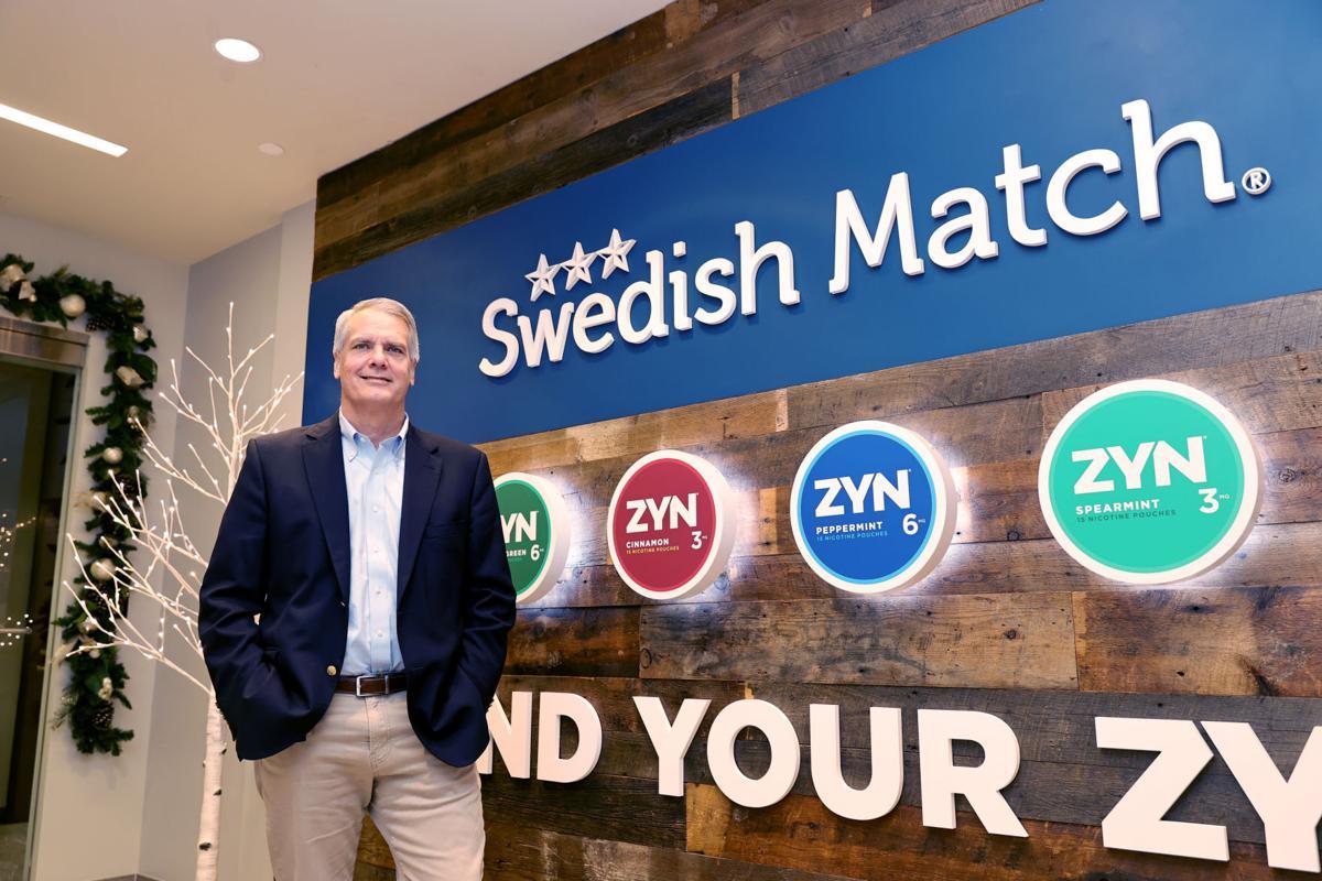 Tom Hayes, the new president of Swedish Match North America