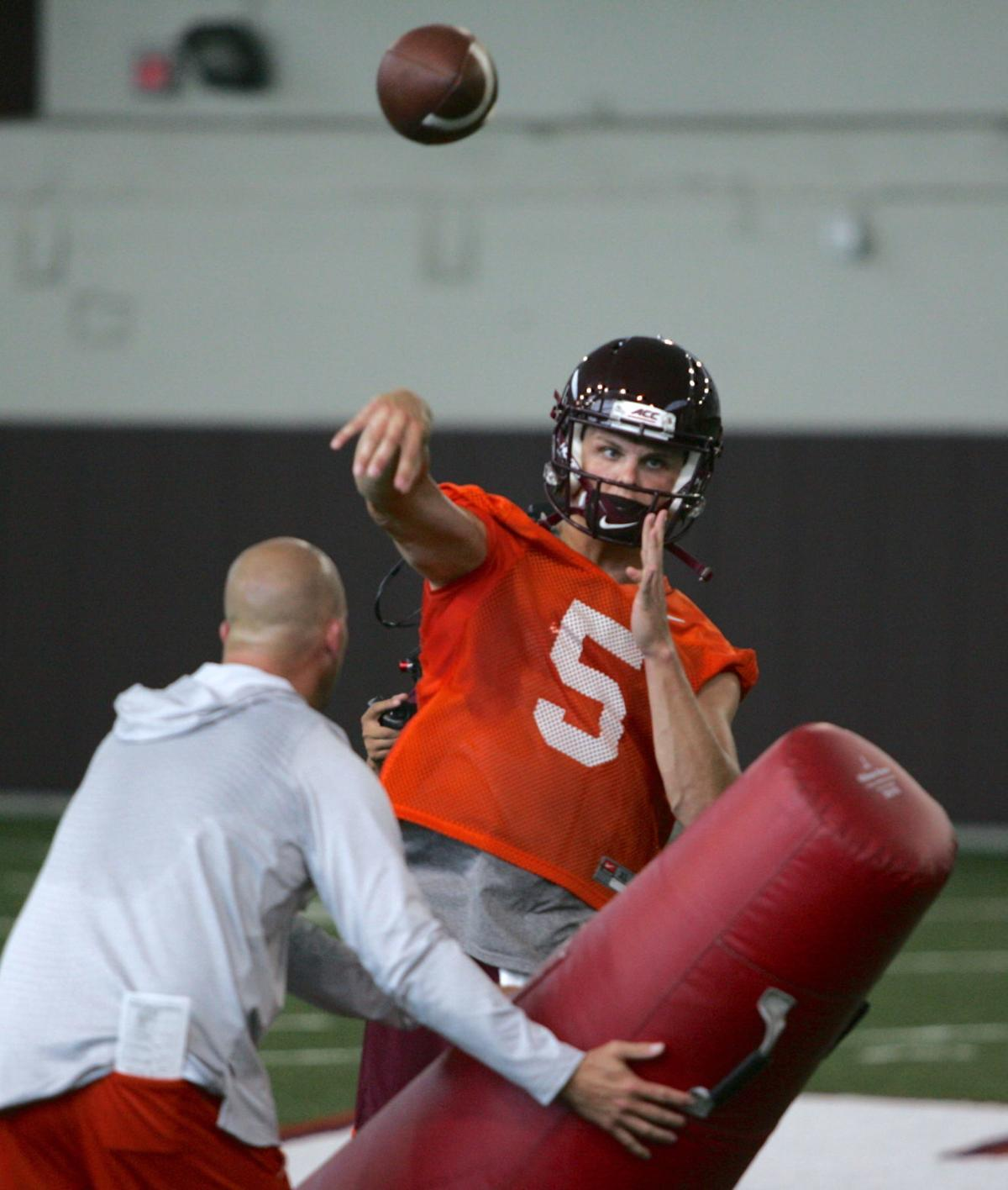 Virginia Tech fall practice Aug. 3