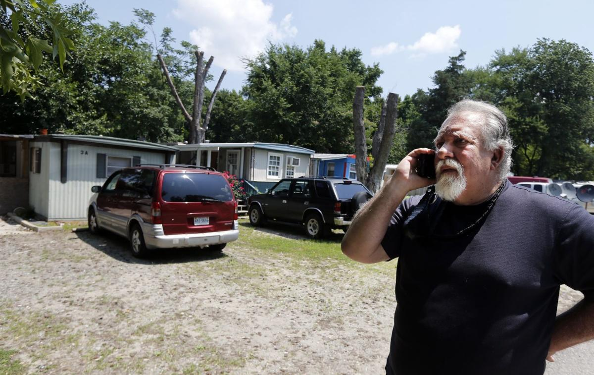 Rudds Trailer Park On Jeff Davis Highway South Of Hull Street Is Managed By Ronnie Soffee