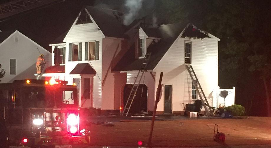 Family of four escapes early-morning house fire in Mechanicsville subdivision