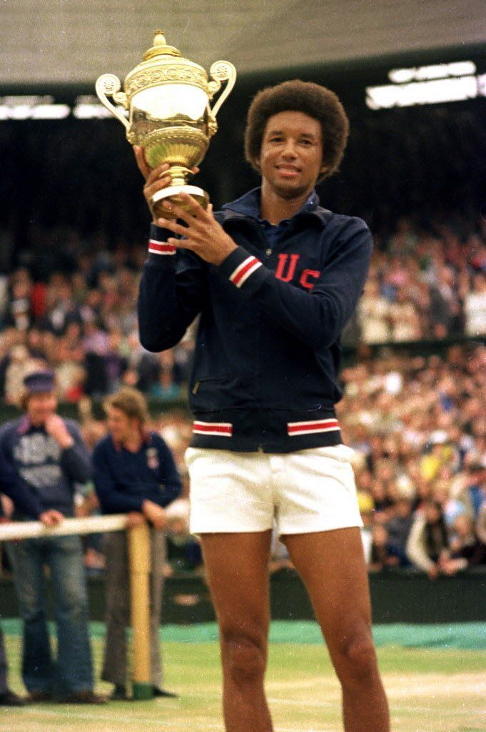 Arthur Ashe cemented legacy with Wimbledon win 40 years ago ...