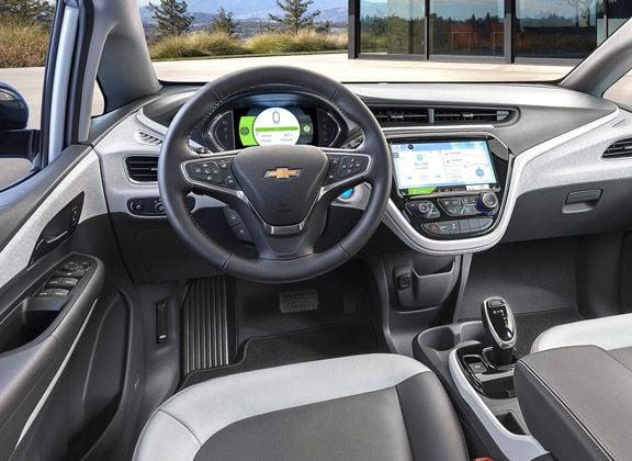 2019 Chevrolet Bolt interior