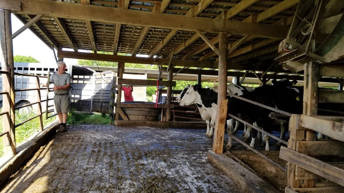 End of an era – last dairy operation leaves Powhatan County