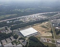 Warehouse developed by Panattoni Development