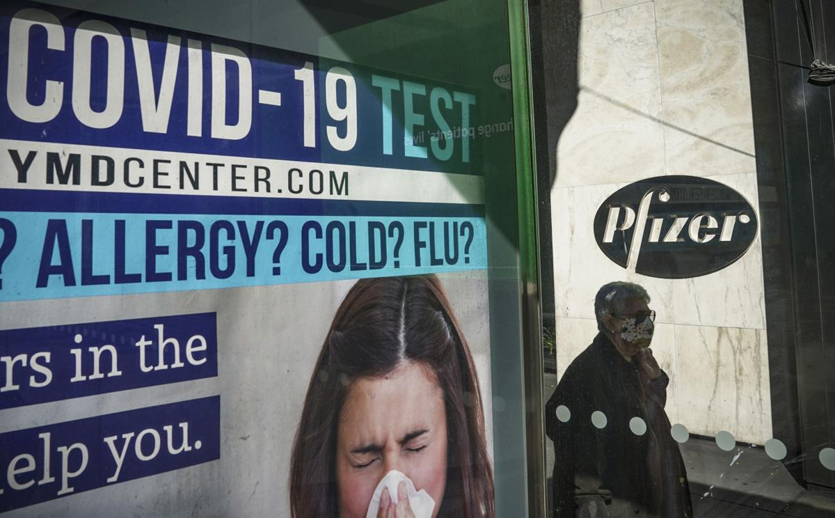 Virus Outbreak Pfizer Vaccine