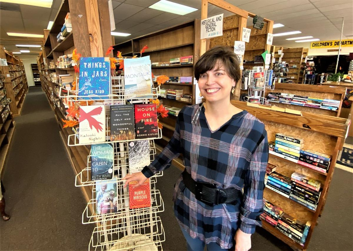 Caroline Davidson is buying The Book Exchange