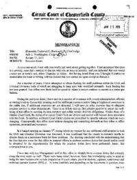 Chesterfield clerk loses staff after ultimatum chesterfield county letter to judge expocarfo Images