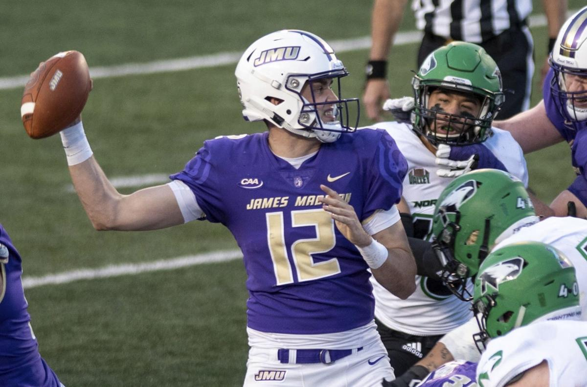 North Dakota James Madison Football