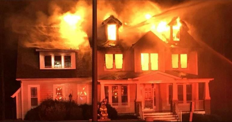 Daniel Adkins set a fire that destroyed this Chesterfield home