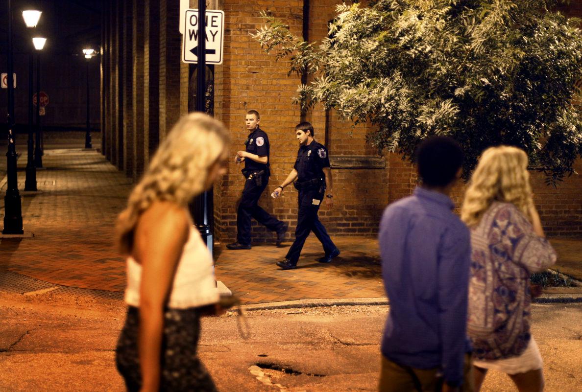 Shockoe Bottom police presence up, violent crime down