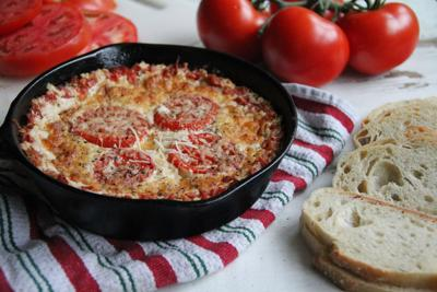 Roasted Tomato and Onion Dip