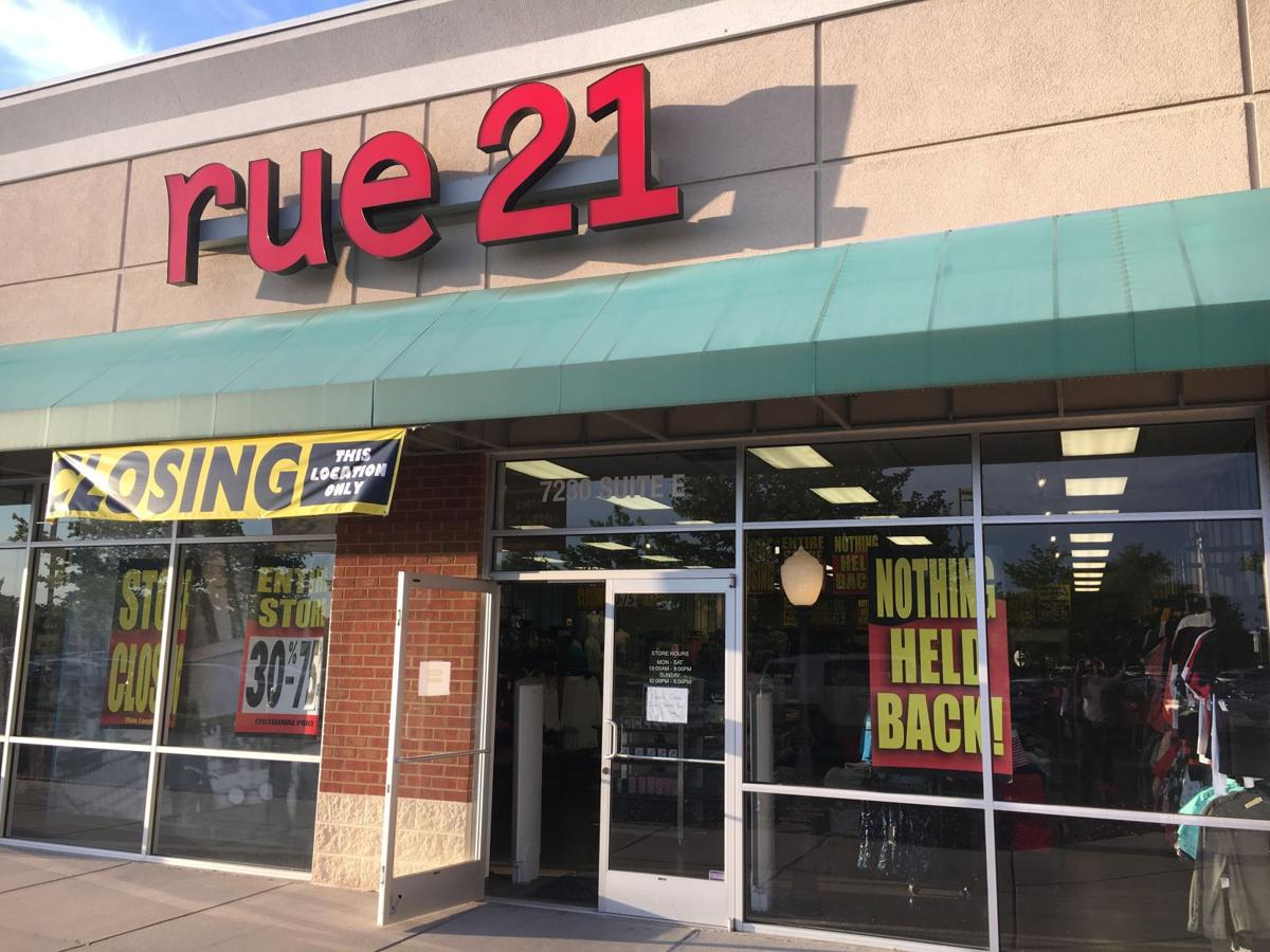 Rue21 closing in Hanover Square North