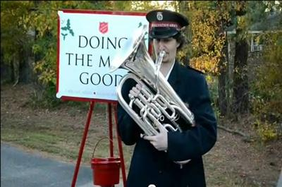 Salvation Army Kickoff 1 Man 1 Kettle 36 Hours Of Music News