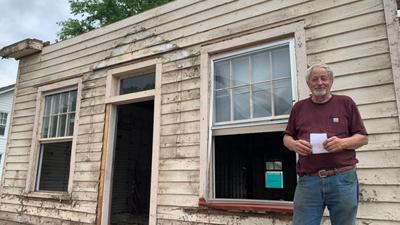 Bucky Tilman preserves historic building in Powhatan Village