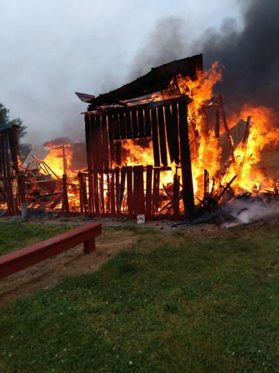 Chesterfield Berry Farm fire