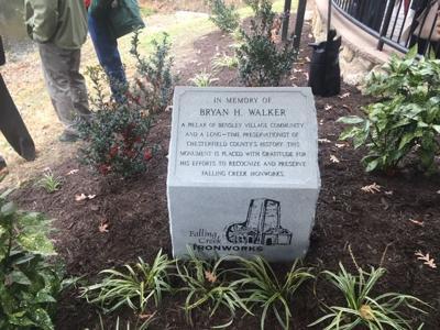 Bryan Walker monument