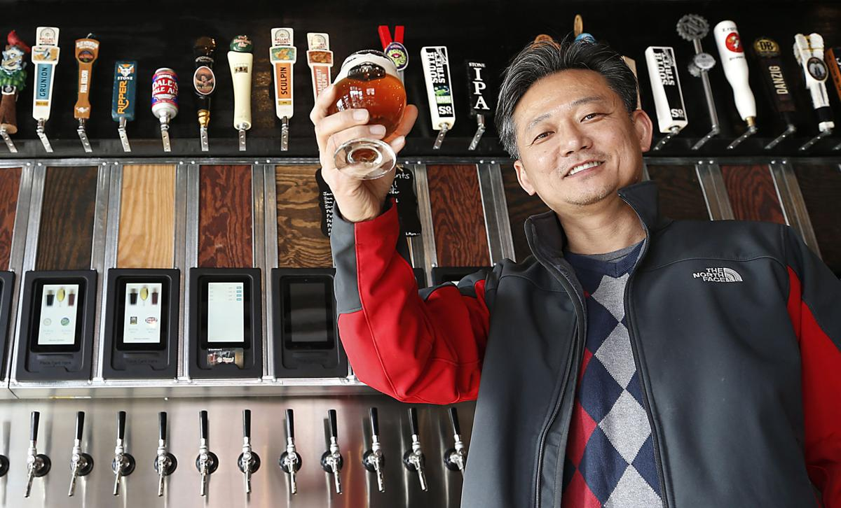 The Founder Of Sweet Frog Brings The Sweet Frog For Beer